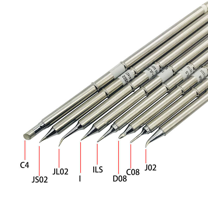 Soldering Iron Tip Soldering Stations Soldering Fx-951 Soldering Stations T12 Series Replacement Soldering Iron Tip T12-B