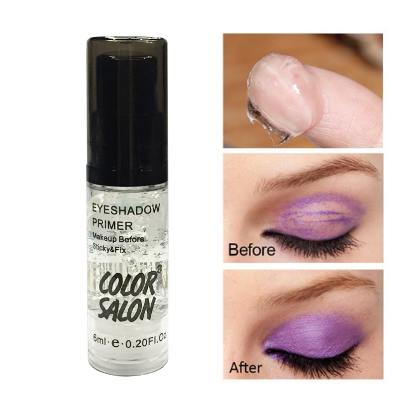 11.11 Color Salon Eyeshadow Primer Makeup Eye Base Cream Eye Shadow Primer Make Up Oil Control Brighten Long Lasting Cosmetic image