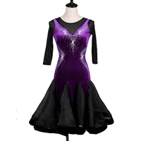 kids latin dance dress women latin dance dress latin salsa competition dress latin rhythm competition dress LQ061