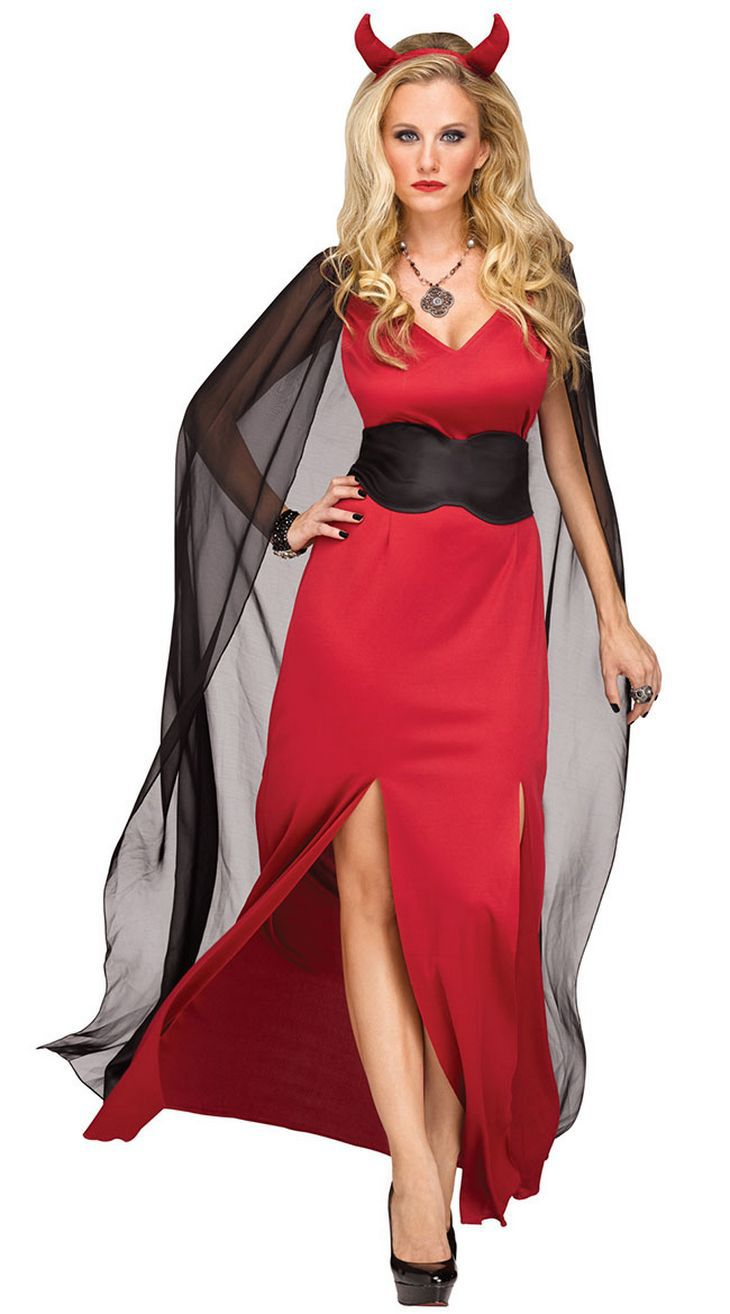 Nuove donne sexy devil red succuba witch long Dress adult female Cosplay costume women cloak Halloween fantasia infantil dress