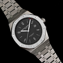 цена DIDUN Men Watch Top Brand Luxury Mechanical Automatic Watch Fashion Sports Watch Steel Strap Waterproof Watch онлайн в 2017 году