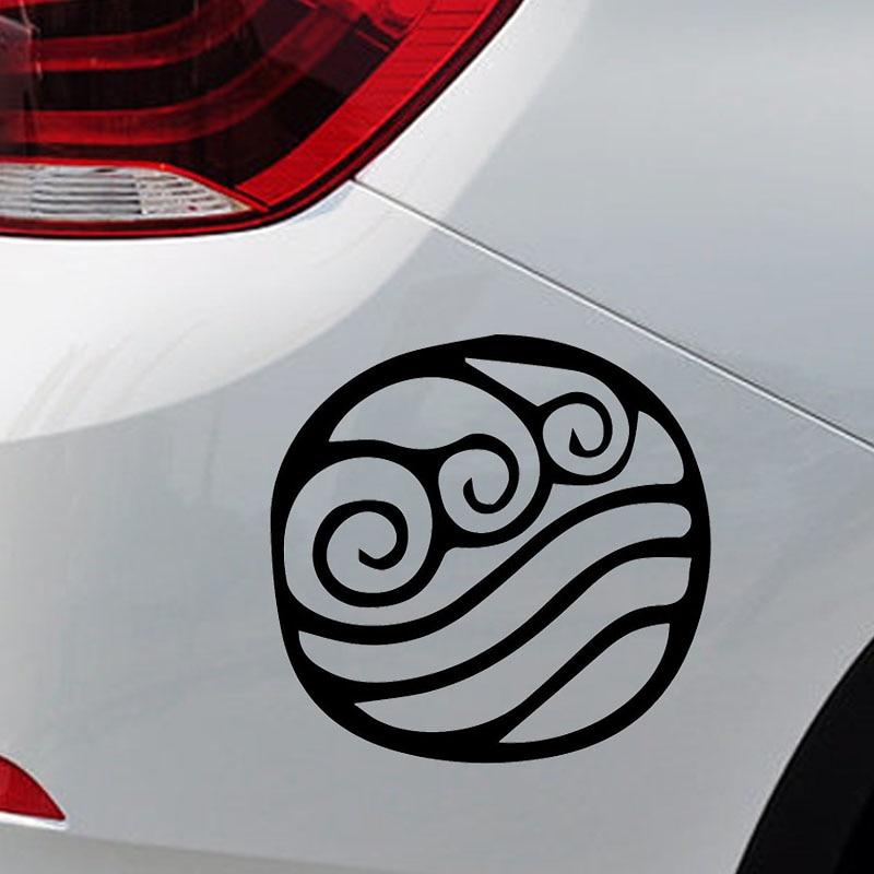 15cm X 15cm Avatar Water Element Symbol Funny Car Sticker For Truck