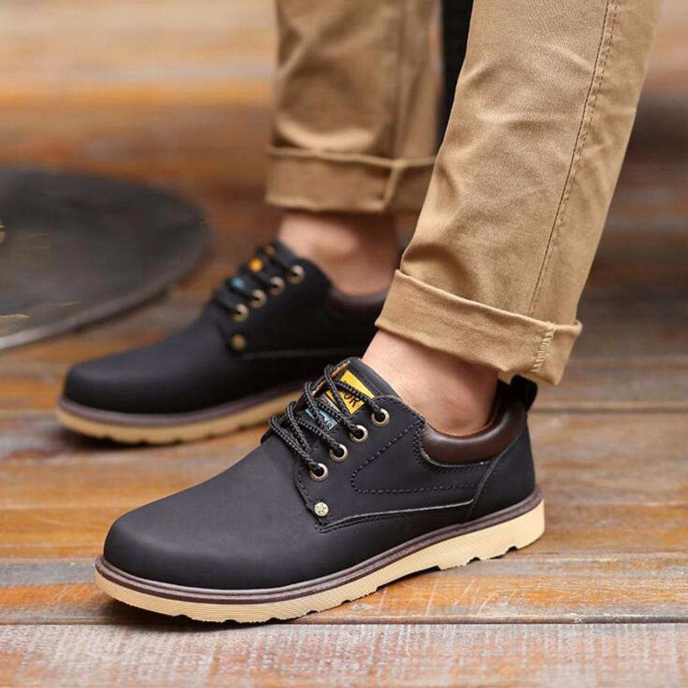 Masculine yellow Style Homme Mode Bonne Sport Zjnnk Hommes Zapatos Pu De Chaussure Black Angleterre En brown Chaussures Hombre TfxnAqpz