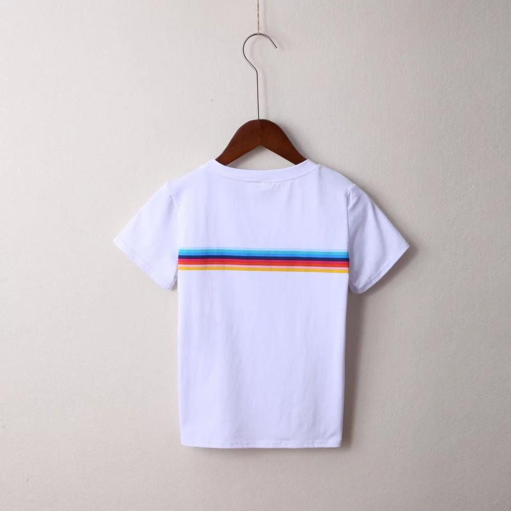 HTB1WRADPVXXXXb apXXq6xXFXXXj - Rainbow Stripes Crop T-shirt PTC 141