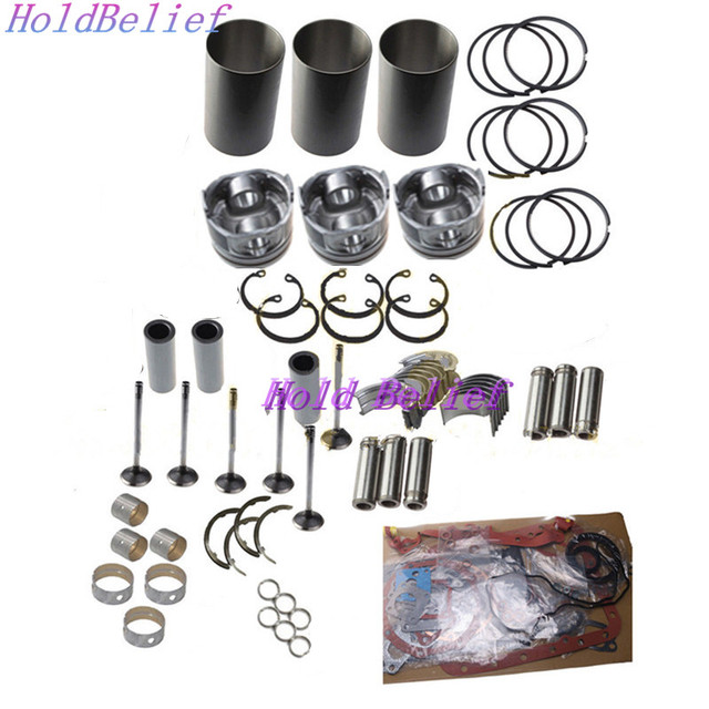 US $480 0 |D722 D722EBH D772B Engine Rebuild Kit For Kubota Engine Digger  Generator Tractor-in Engine Rebuilding Kits from Automobiles & Motorcycles