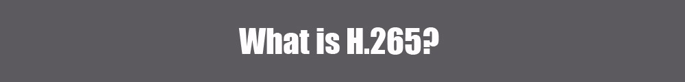 what is H.265