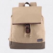 FLYONE Hot Style Durable Canvas Backpack String Rucksack Bag With Unique Shoulder Strap