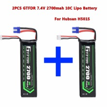 GTFDR POWER Hubsan Battery 7.4V 2700mAh 10C H501S-14 for H501S H501C H501S Pro X4 RC Quadcopter Spare Parts цена 2017
