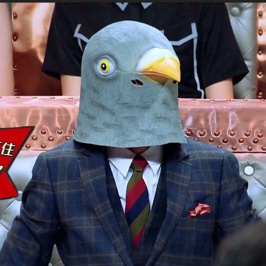 Colorido paloma paz látex máscara para los Fans todo partido mismas máscaras