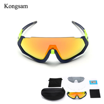 778da15c50 UV400 100 polarizadas bicicleta gafas moto gafas de sol gafas de ciclismo  gafas 3 lente Kit de deportes al aire libre de la bicicleta de la  motocicleta ...