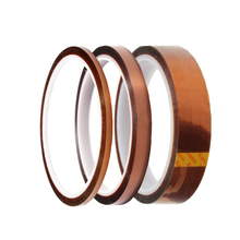 цена на 33M Polyimide Adhesive Tape High Temperature Heat Thermal Insulation Acid and Alkali Resistant Tape 3D Printing Board Protection