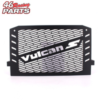 Black Motorcycle Accessories Radiator Guard Protector Grille Grill Cover For Kawasaki VULCAN S 15 16 VULCAN