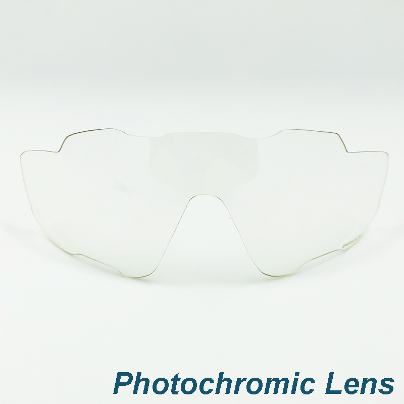 1PC Photochromic lens for cycling sun glasses color changing lens under ultraviolet light or purple light