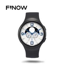 Finow X3 K9 Reloj Inteligente Reloj PK Y3 KW18 Del Ritmo Cardíaco Monitor de WIFI 3G Tarjeta SIM Apoyo Reloj Para iPhone Samsung Android teléfono