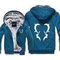 Fairy Tail Winter Hoodies Sweatshirt Men Cute Casual  Male Jackets Hoody Cloak Shawl Man Cloth Keep Warm Color One