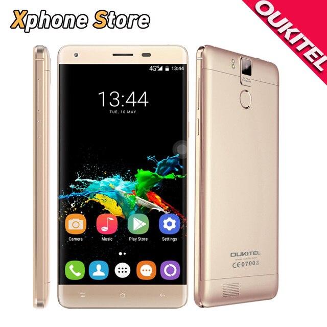 OUKITEL K6000 Pro Android 6.0 MTK6753 Octa Core 5.5 inch 4G LTE 32GB+3GB 16.0MP OTG FM OTA Metal Frame 6000mAh Smartphone