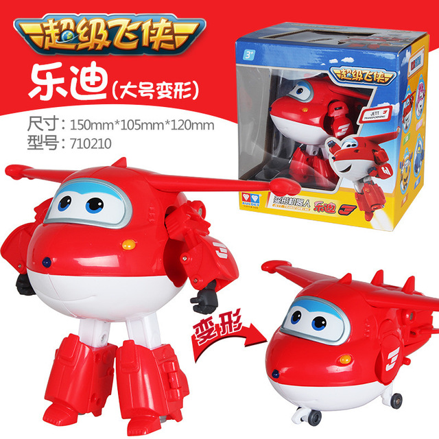 15cm ABS Super Wings Deformation Airplane Robot Action Figures Super Wing Transformation toys for children gift big size 12pcs set children kids toys gift mini figures toys little pet animal cat dog lps action figures