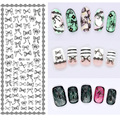 1 Sheet  Fashion Nails Art Stikers  Water Transfer Decals For Nails Tips Beauty DS-108