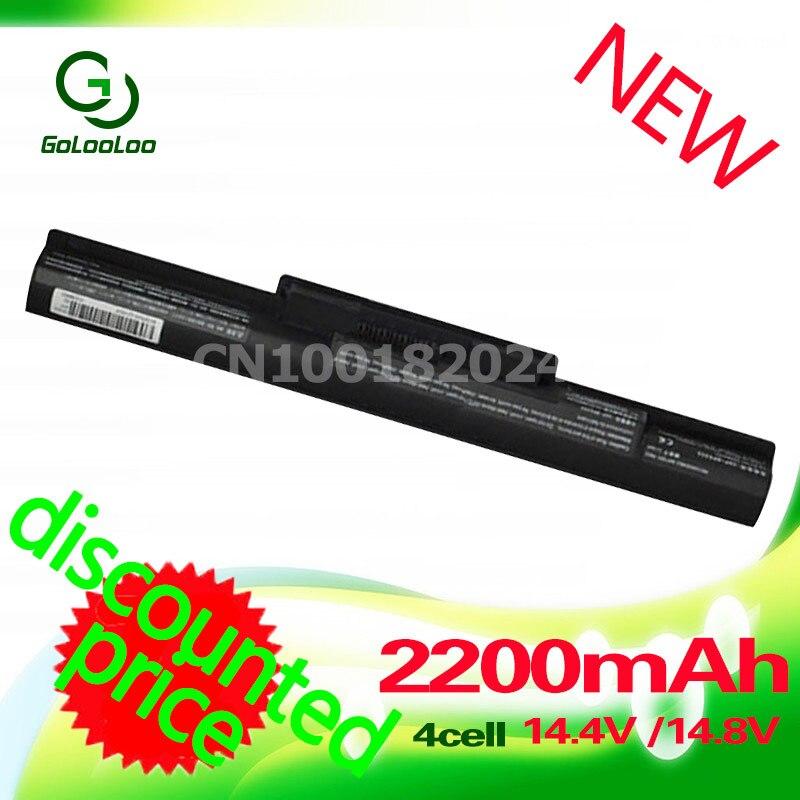 Golooloo 2200mah 14.8v 4cells Battery BPS35A VGP-BPS35A SVF1521A2E SVF15216SC SVF15217SC for Sony VAIO Fit 14E 15E Series цены онлайн