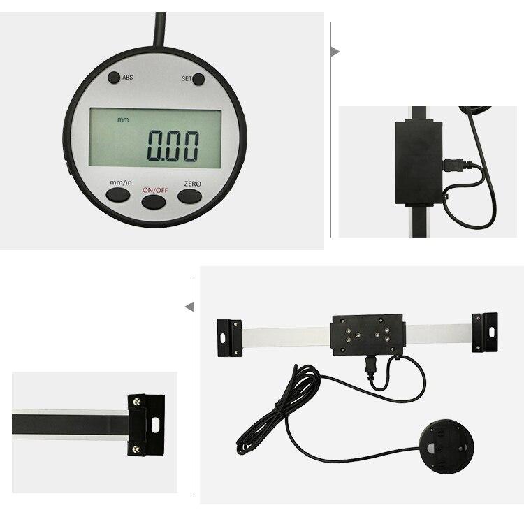 Новые цифровые весы 0-150 мм, внешний дисплей, удаленная линейная шкала, Dro цифровая индикация для токарно-фрезерный станок