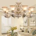 Европейский Стиль Люстра для гостиной лампа для сада смоляная лампа простой американский ретро спальня столовая лампы настенный светильни...