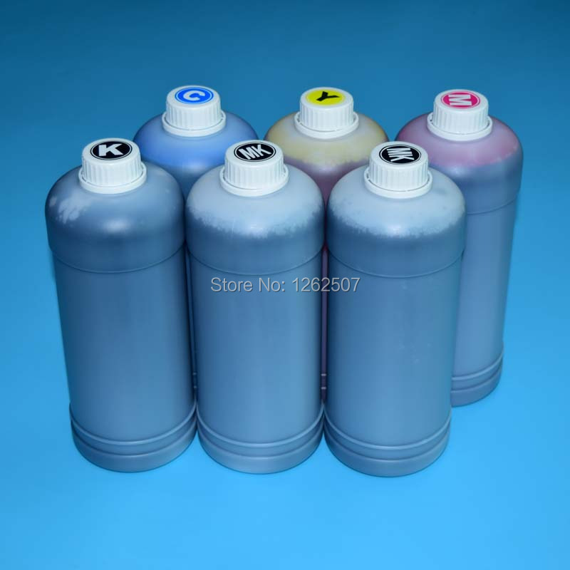 6Colors for canon ink refill kit pfi 102 for canon ipf 600 610 605 700 710 720 500 510 printers 1000ml bottle refill ink hot sale 1000ml roland mimaki mutoh textile pigment ink in bottle color lc for sale
