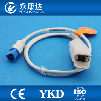 3pcs/lot Compatible 78352A/C adult finger clip spo2 probe with 8pin 1m surgical supplies