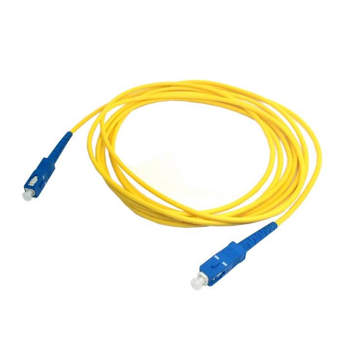 SC to SC Fiber Patch Cord Jumper Cable SM Simplex Single Mode Optic for Network 1m 3m 5m 10m 15m 20m 30m 50m 2