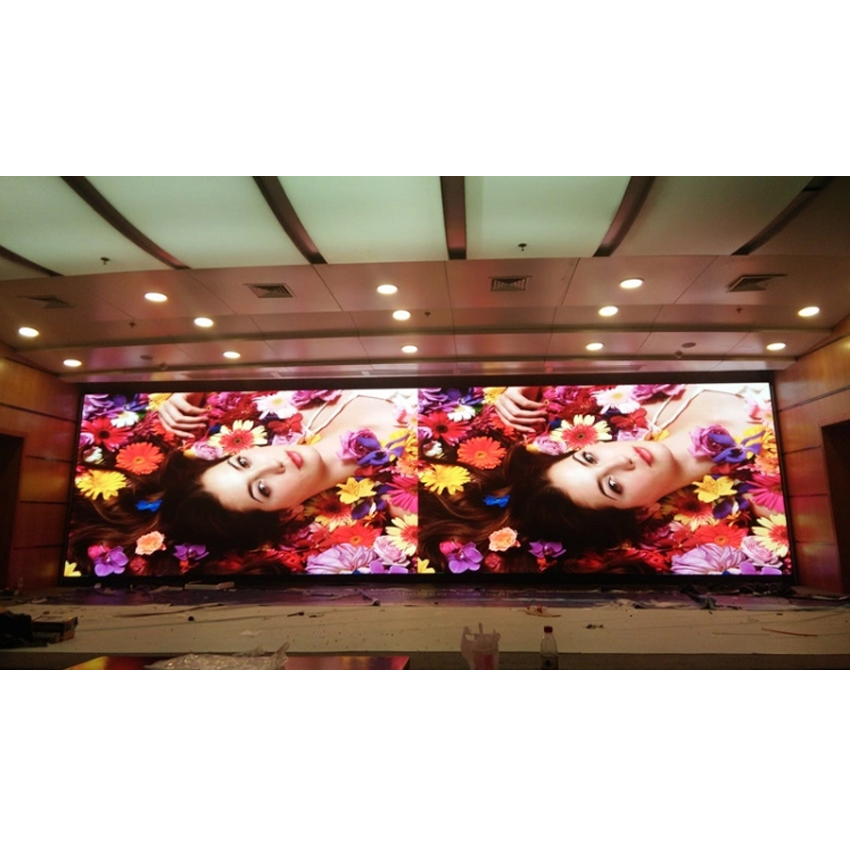 Indoor LED Video Wall Screen P3 SMD2121 Die Casting Aluminum Cabinet 576*576mm, LED Panel Advertising Billboard Display