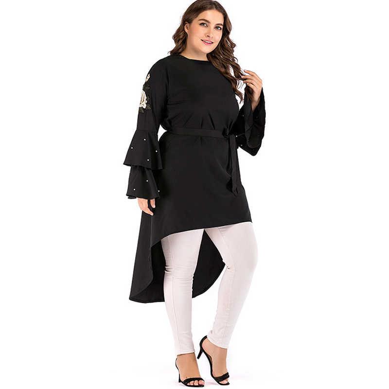 32b543510c9 ... 2019 Abaya Dubai Kaftan Turkey Women Long Beading Embroidery Hijab Muslim  Dress Elbise Caftan Robe Turkish ...