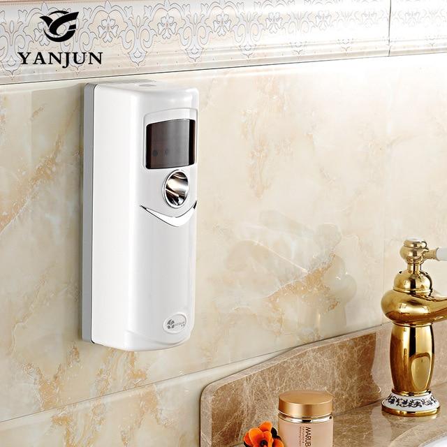 Yanjun Auto Perfume Sprayer Dispenser Wall Mounted Fragrance Sprayer Light Sensor Aerosol