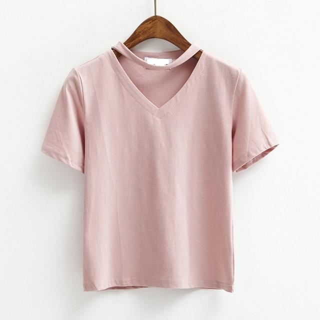 Camisa de t das mulheres ulzzang 2016 shalter vestir estilo coreano t-shirt  das mulheres 6e8f1019fc013
