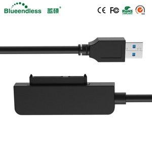 """Image 3 - Nieuwe Type C naar SATA Serial Adapter Kabels Computer Connector Kabels Voor 2.5 """"Sata HDD Laptop Harde Schijf"""