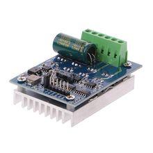 Controlador de motor de CC doble de 16A Módulo de placa controladora de puente en H, alta potencia, PWM, Control de regulación de velocidad, 12V, 24V, 36V