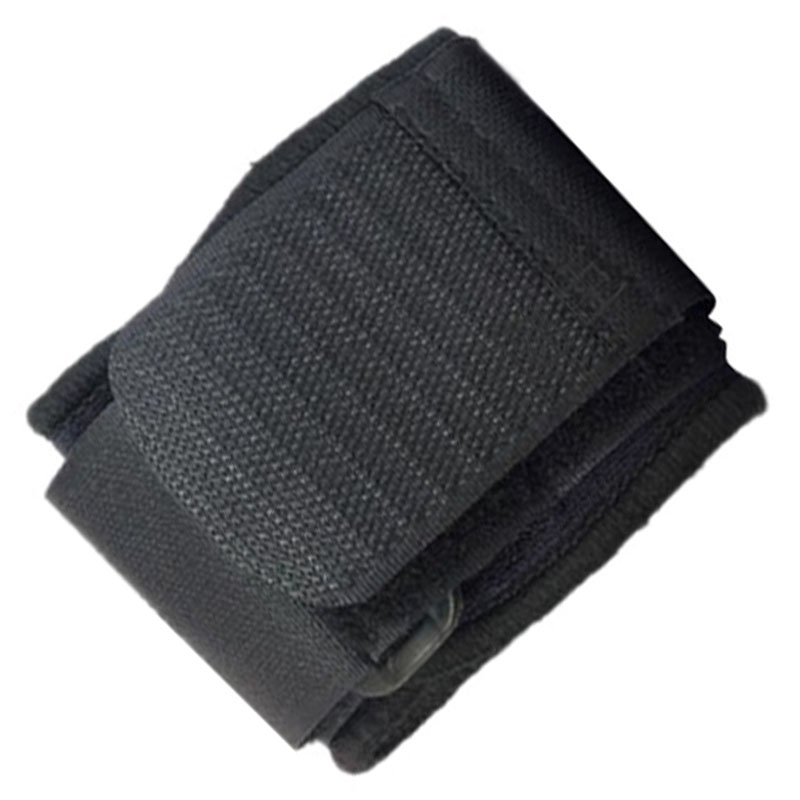 ELOS-Adult Black Neoprene Wrap Compression Wrist Brace Support