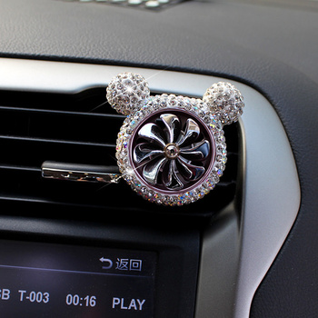 Crystal car air freshener vent 2