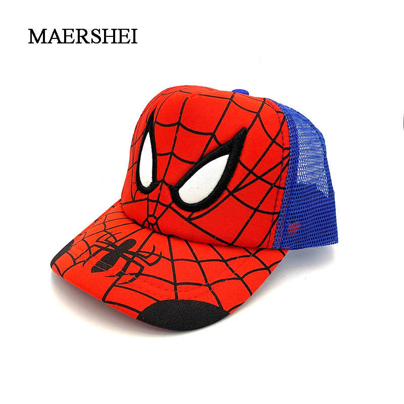 e583dd7b92f14 ... MAERSHEI 2019 new Baby Kids Cartoon spiderman Sun Basin Cap Children  Fisherman Hat Boys Girls Sun. RELATED PRODUCTS. MAERSHEI Summer kids  baseball hat ...