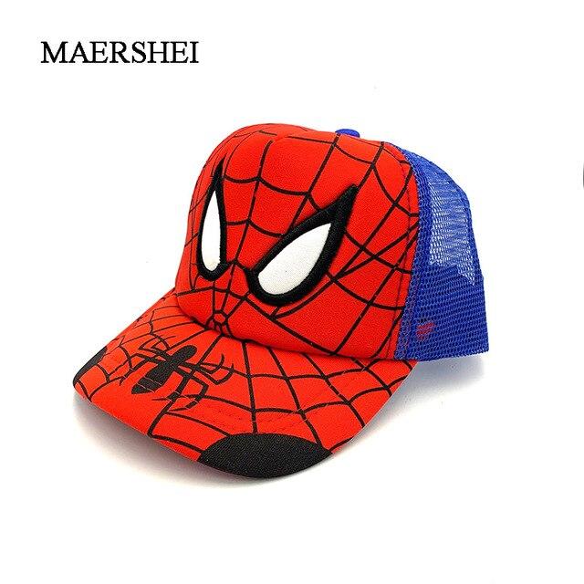 MAERSHEI Verão das crianças boné de beisebol Cap chapéu Casquette homme novas crianças cap net Coréia tendência dos desenhos animados caps Snapback Osso