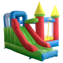лучшая цена Free Shipping Inflatable Jumping Castles For Kid Bounce House Inflatable Bouncy Slide Combo With Blower