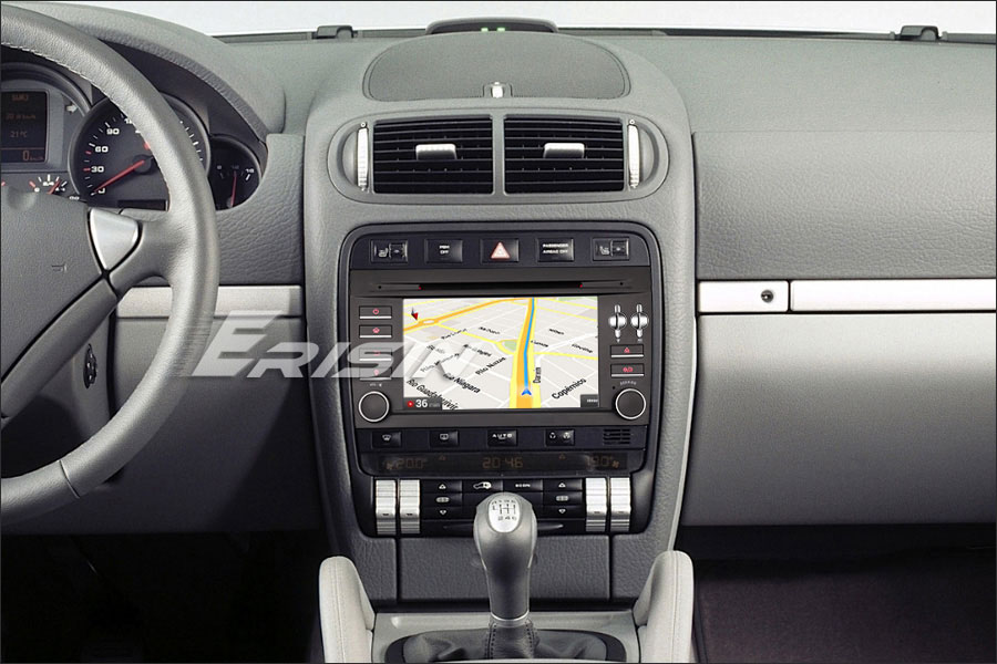 """Excellent 7"""" 4GB RAM 32GB ROM Android 9.0 Pie OS Car DVD Multimedia GPS Radio for Porsche Cayenne 2003-2010 with Split Screen Support 3"""