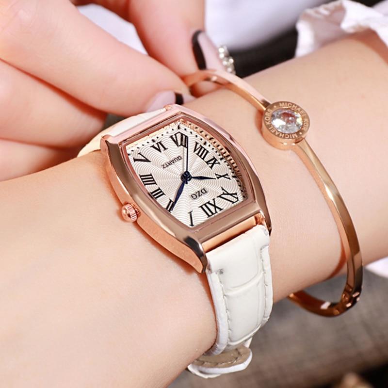New Luxury Brand Ultra thin Women 39 s Watch Minimalist Fashion Female Women 39 s Watch Retro watch Male Clock 2019 Damski Relogio in Women 39 s Watches from Watches