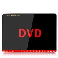 Портативный 19 дюймов DVD/VCD/HD большой экран U диск плеер с tf картой открытый зарядки MP3 музыка драма видео машина колонки нi fi mp4