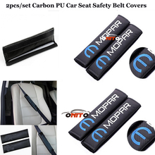 Auto safety belts 2pcs/set car seat belts padding covers Car