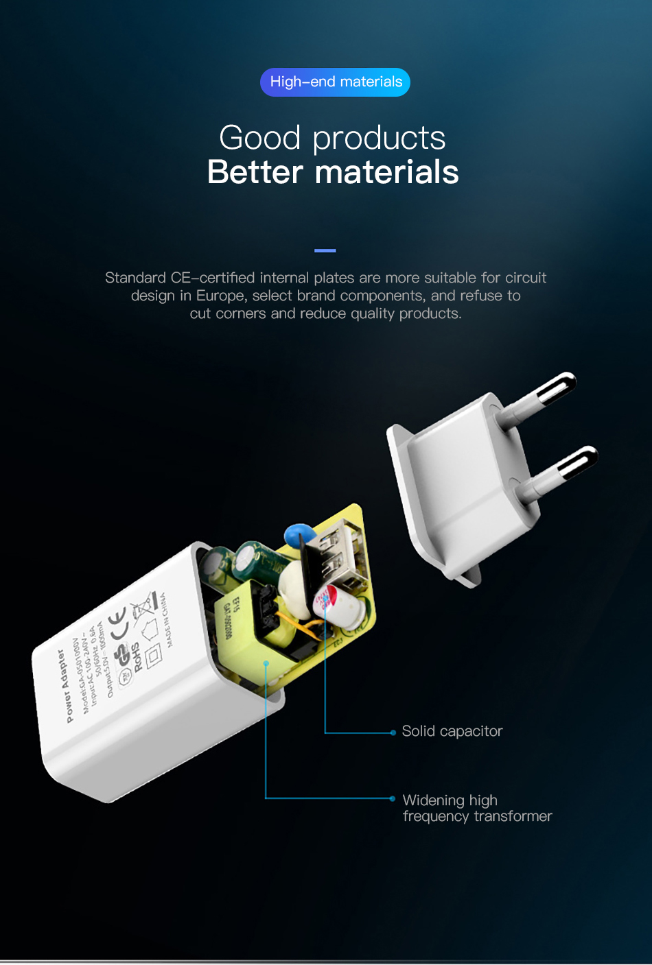 !ACCEZZ USB Charger 5V 1A Adapter For iphone 7 8 XS EU Plug Mobile Phone Wall Travel Charger Universal For Samsung S8 S9 Xiaomi (4)