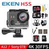 EKEN H5S A12 Ultra 4K 30FPS Wifi Action Camera 30M Waterproof 1080p Go EIS Image Stabilization