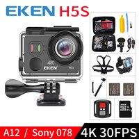 EKEN H5S A12 Ultra 4K 30FPS Wifi Action Camera 30M Waterproof 1080p Go EIS Image Stabilization