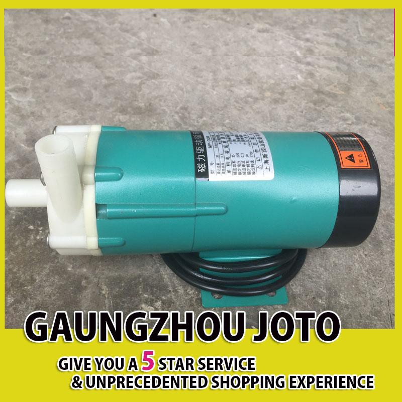 лучшая цена MP-40R Engineering Plastic Magnetic Pump Circulation Pump Chemical Corrosion Resistant