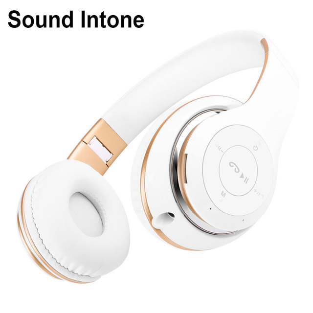 Sound Intone BT-09 Bluetooth Headphones Wireless Stereo Headsets with Mic Support TF Card FM Radio for iPhone Samsung  Calls