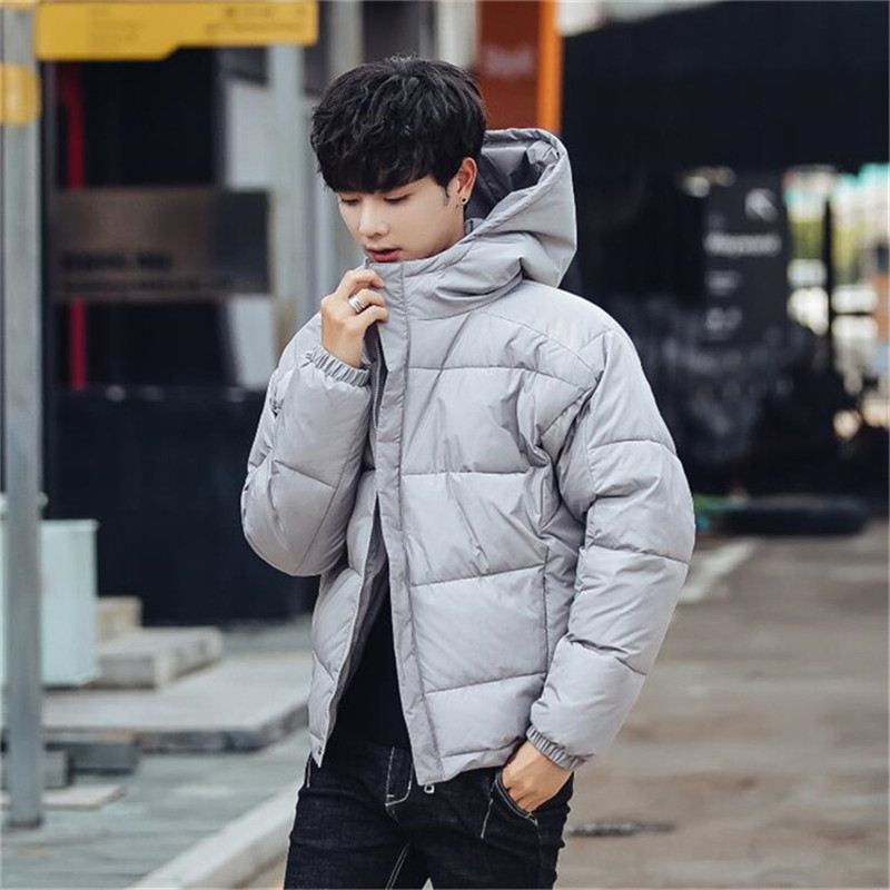GYMLOCKER NEW Winter parka men high quality winter coat men Fashion Overcoat clothes Jackets Mens Warm and windproof Male parkas in Parkas from Men 39 s Clothing