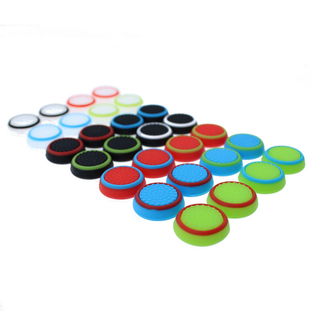 TingDong 1pcs  Game Accessory Protect Cover Silicone Thumb Stick Grip Caps for PS4/3 for Xbox 360/for Xbox one Game Controllers 3